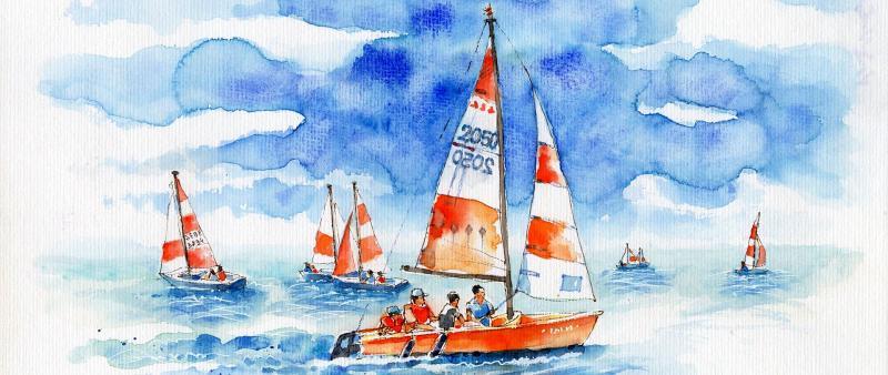 Kompaktworkshop: Boote im Wasser. Maritime Szenen sketchen.