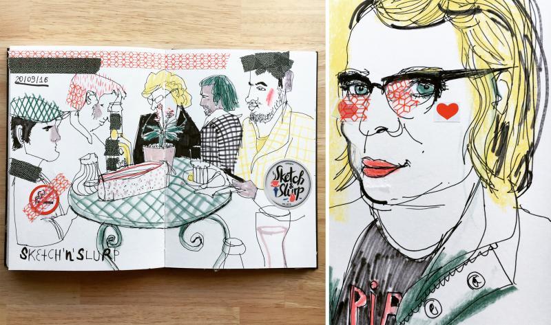 Illustrative Porträts