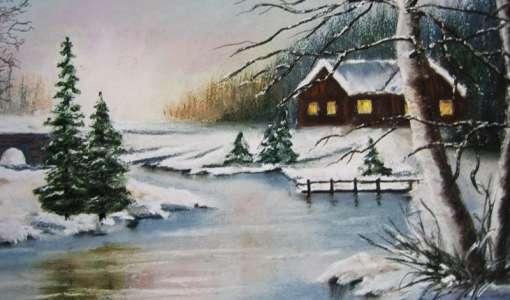 Weihnachtsbild - auch als Weihnachtskarte geeignet