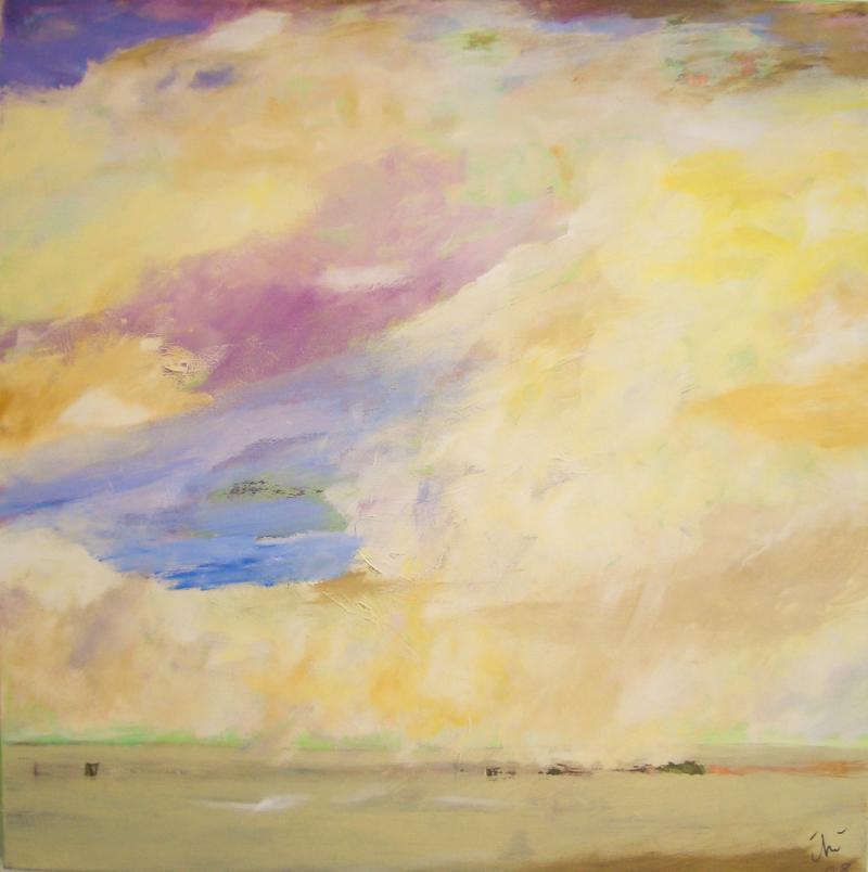 Abstrahierte Landschaft
