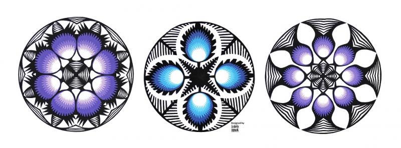 Handwerkskunst Scherenschnitt