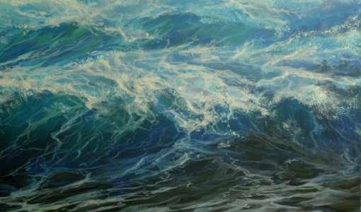 Meer und Wellen