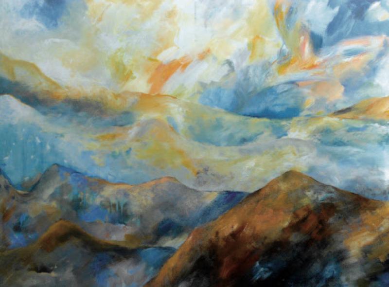 Mit Lust und Mut zu realen und abstrakten Landschaften