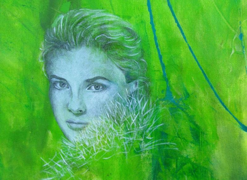 Portraitmalerei in Acryl