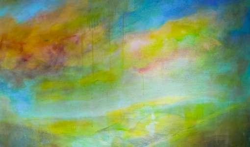 Von der Landschaft in die Abstrakion