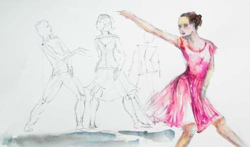 Reihe Zeichnen & Malen: Aquarell für Figur und Bewegung